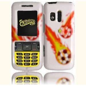 Soccer Hard Case Cover for Samsung Messager R450 R451C