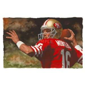 Print San Francisco 49ers Oversized Canvas Art