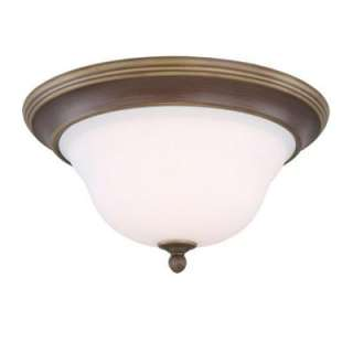 Hampton Bay Oxford Bronze 3 Light Flushmount GAW8013A 2 at The Home