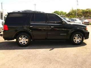 2005 BLACK LINCOLN NAVIGATOR CEO SUV BY EXECUTIVE #418 (323) 209 8510