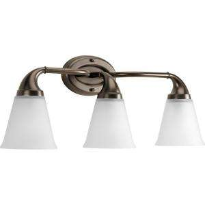 Progress Lighting Lahara Collection Venetian Bronze 3 light Vanity
