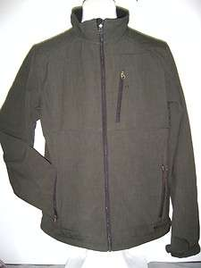 NEW BLACK DIAMOND Double Diamond Mens XL Soft Shell Jacket Cedar