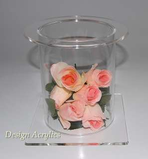 LARGE CLEAR ACRYLIC WEDDING CAKE PEDESTAL STAND