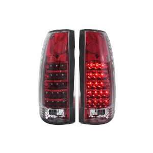 Anzo USA 311079 Cadillac/Chevrolet/GMC Red/Crystal G3 LED Tail Light