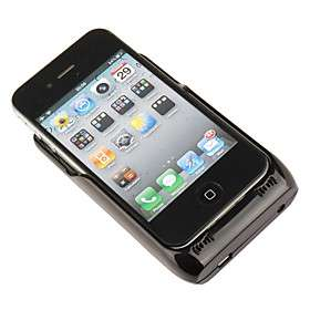 US$ 21.99   Battery Case/Charger for iPhone 4 + Solar Pane, Free