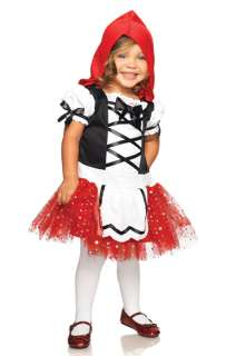 Red Riding Hood Toddler Costume for Halloween   Pure Costumes