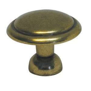 Belwith Keeler Conquest Collection 1 3/8 Cabinet Knob Lustre Brass