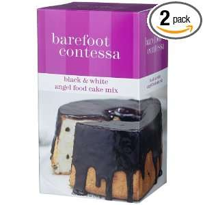 Barefoot Contessa Black & White Angel Food Cake Mix, 27.6 Ounce Boxes