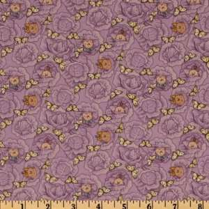 44 Wide Special Delivery Baby Cabbage Patch Lilac Fabric