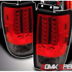 Ford Expedition Led Tail Lights Red Smoke Altezza LED Taillights 1997