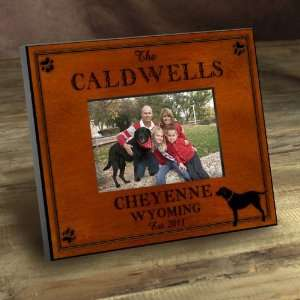 Baby Keepsake Personalized Cabin Series Labrador Picture Frame Baby