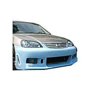 01   02  Honda Civic CW/RX7 Style Front Bumper