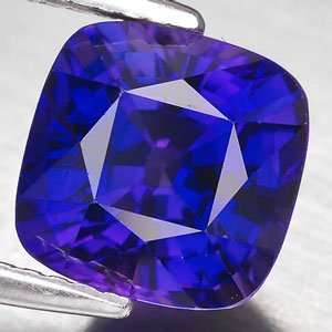 19ct Square Blue Natural Sapphire Loose Gemstone