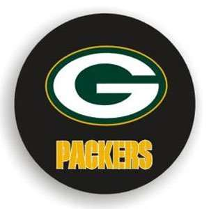 Green Bay Packers Black Spare Tire Cover (Quantity of 2