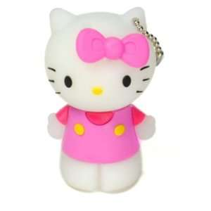 4gb Pink Hello Kitty USB Memory 2.0 Flash Drive (Gift Wrap