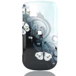 Phone Shell for LG GD710 Shine 2   Geisha Butterflies Cell Phones