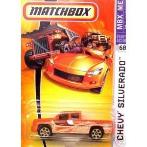 Mattel Matchbox 2007 MBX Metal 164 Scale Die Cast Car # 68   Orange