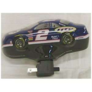 NASCAR Rusty Wallace Car Shaped Night Light Sports