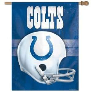 Indianapolis Colts Vintage Vertical Banner Flag Patio, Lawn & Garden