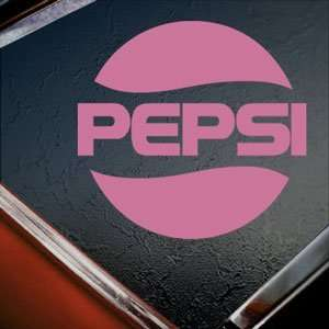 Pepsi Pink Decal Car Truck Bumper Window Vinyl Pink