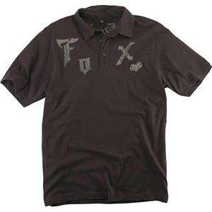 Fox Racing Phantom Polo   Large/Dark Brown Automotive