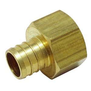 516 Female Adapter 1/2 Inch Barb x 3/4 Inch Fem Pipe Low Lead, Brass