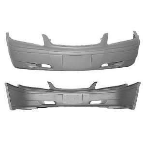 CV04067BB TY1 Chevy Impala Primed Black Replacement Front Bumper Cover