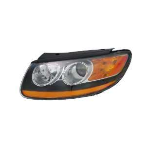 TYC 20 12364 00 Left Replacement Head Lamp for Hyundai