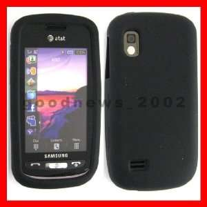 SAMSUNG SOLSTICE A887 PHONE SILICONE COVER CASE BLACK