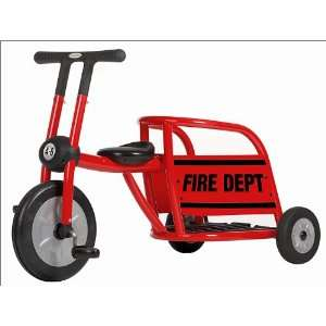 Pilot 300 Red Fire Truck Tricycle by Italtrike Toys & Games