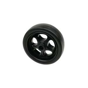 Trailer Jack Wheel, Black Poly 6in.   52070