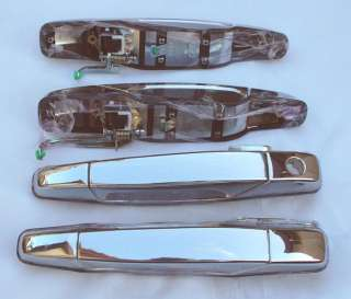 07+ Chevy Tahoe Suburban Escalade Yukon Chrome Door Handles Oem
