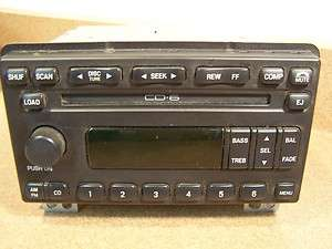 OEM Ford Explorer Mustang 6 disc CD player radio 01 02 03 04 1L2F