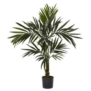 NEW 5 SILK KENTIA PALM TREE ARTIFICIAL FAKE TROPICAL HOUSE PLANT