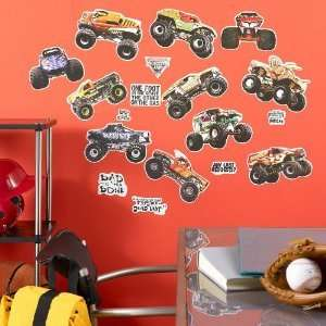 19 BiG Wall Stickers TRUCKS Room Decor Decals Party Decorations NEW