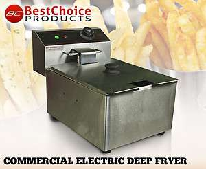 Deep Fryer Electric Watt Commercial Unit Restaurant Frying Deep Fryer