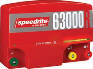 SPEEDRITE 63000RS ELECTRIC FENCE ENERGIZER CHARGER 220V