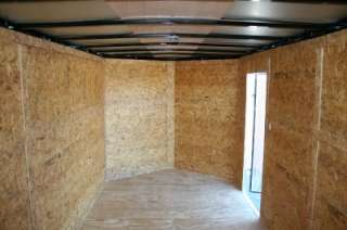 NEW 8.5x24 8.5 x 24 Enclosed Carhauler Cargo Trailer