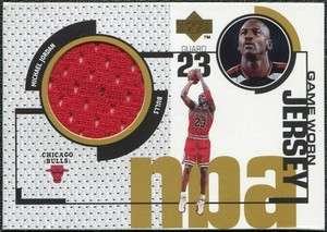 1998 99 Upper Deck Game Jerseys #GJ20 Michael Jordan