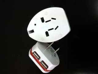 Universal Power Travel USB Charger Adapter Plug AC Wide***