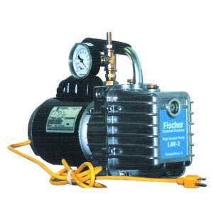 Vacuum Pump with Gauge, 110V, 1725rpm Pump Speed, 26.4oz Oil Capacity